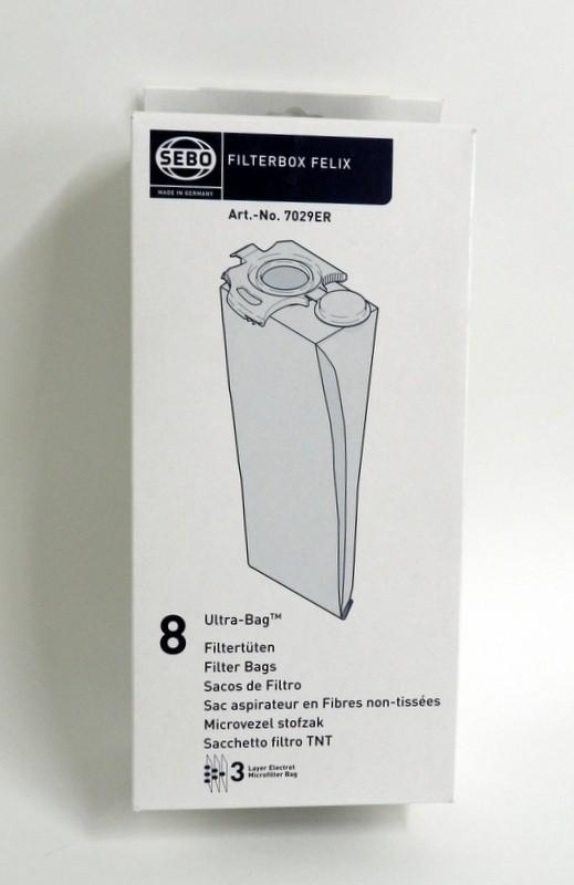 Aspirabec sac pour aspirateur sebo felix sac et filtre for Aspirateur sebo